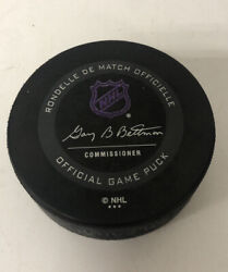 Rare Color Changing Arizona Coyotes Thermochromic Nhl Official Game Puck Kachina