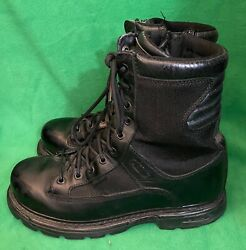 Thorogood Menand039s Military Tactical Side-zip Boots Size 10.5 M