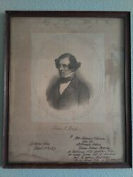 Thomas Meagher Lithograph - Irish Rebel, Us Civil War General, And 1st Gov Of Mt