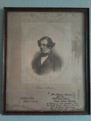 Thomas Meagher Lithograph - Irish Rebel Us Civil War General And 1st Gov Of Mt