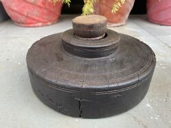 1700 Andlsquos Ancient Old Wooden Hand Carved South Indian Hand Press Juicers Mill