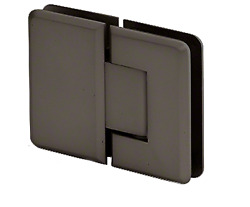 L Oil Rubbed Bronze Pinnacle 180 Series 180 Degree Glass-to-glass Standard Hing
