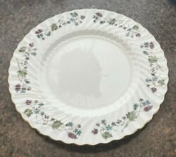12 Minton Dryden Pattern Dinner Plates Discontinued