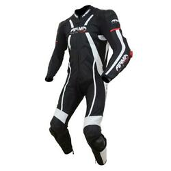 Armr Moto Harada R 1 Piece Track Leather Racing Motorcycle Motorbike Suit