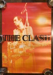 The Clash Super Rare Japan Limited Music Hobby Collection Poster Used