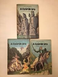 J.r.r. Tolkien The Lord Of The Rings First Hungarian Edition Unread