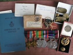 Ww2 And Borneo Service Medal Group And Effects To Smith, Royal Air Force