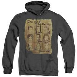 Firefly Burned Poster - Heather Pullover Hoodie
