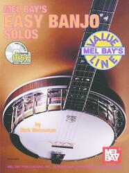 Mel Bay's Easy Banjo Solos Music Book/cd Value Line Very Rare Brand New On Sale