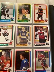 1986-87 Opc Hockey Complete Set Patrick Roy Rc 90 From Packs 10 Years Ago
