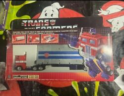 1984 Optimus Prime G1 Canadian Box Bloated