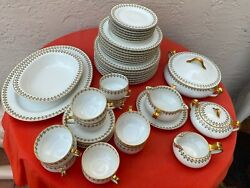 Schleiger 570 By Haviland Limoges France 42 Pc Discontinued China