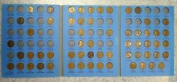 60 Coin Set 1909-1940 Lincoln Wheat Penny Cent - Early Dates Collection  333