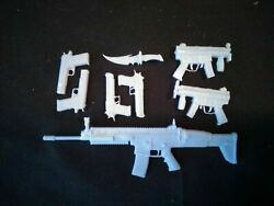 Red Hood Weapons Kit - 1/6, 1/10, 1/12, 1/18 Scales