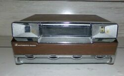 Vintage Automatic 8 Track Car Radio Tape Player Model Ges-8111-a