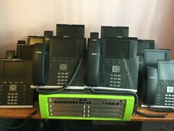 Unify Openscape Business X5r Telephone System Pabx With 25 Ip55g Hfa Desk Phone