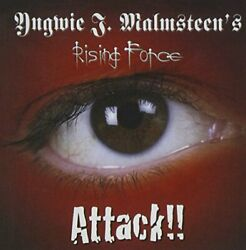 Yngwie J. Malmsteenand039s Rising Force Attack Japan Cd Pccy-01971 2013 Obi