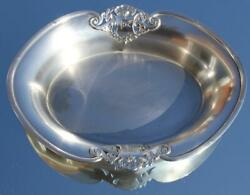 White Star Line 1st Class Rms Olympic Titanic Era C-1922 Plated Fruit Bowl