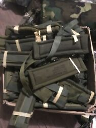 Lot Of 10 Us Military Alice Pack Shoulder Straps Mixed Ages Army Surplus Soldier