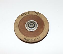 Atco 3 Inch Pulley Sealed Ball Bearing 3/16 Cable Or So Pn 0000014-1