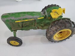 Vintage John Deere Tractor Farm Toy For Parts Or Restore