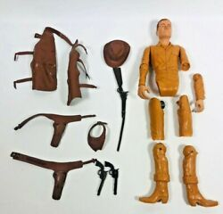 Vintage Johnny West Movable Cowboy For Repair Parts With Accessories Marx