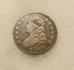 1818 Capped Bust Quarter - Better Date B-8 - Nice Looking Coin - Free Shipping