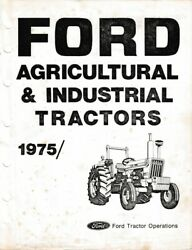1975/ Ford Tractor Australian Factory Parts Book 7600 6600 5600 Ag And Industrial