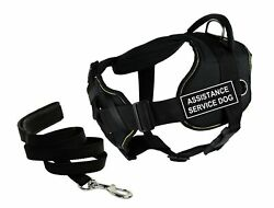 Dean And Tylerand039s Dt Fun Chest Support Assistance Service Dog Harness Small...