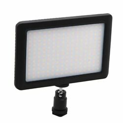 50x12w 192 Led Studio Video Continuous Light Lamp For Camera Dv Camcorder Black