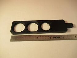 Unknown Maker Slide With One Lens Microscope Part As Pictured And1e-b-51