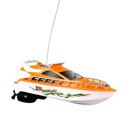 50xmini Rc Boats 5km/h Abs Outdoor Electric Remote Control Speedboat Racing Toy
