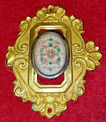 Old Reliquary. With Relics Of 9 Saints. With Seal Of Lacre. Europe. Xix Century