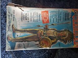 Marx Johnny West Series Chief Cherokee With Accessories And Box Rare