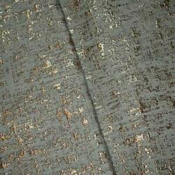 Gray Metallic Brown Textured Jacquard Home Decorating Fabric Fabric By The Yard