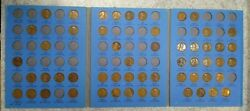 55 Coin Set 1909-1940 Lincoln Wheat Penny Cent - Early Dates Collection 330