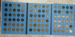 61 Coin Set 1909-1940 Lincoln Wheat Penny Cent - Early Dates Collection 346