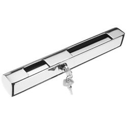 Stainless Steel 30cm Anti-theft Outboard Engine Motor Lock Including 2 Keys