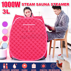 3l Portable Folding Steam Sauna Spa Tent Home Full Body Loss Weight Therapy