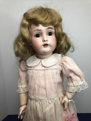 21andrdquo Antique German Kestner 171 Bisque Doll Original Compo Ball Jointed Body L
