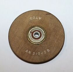 Atco Aircraft Pulley 2.5andrdquo For Cable Size 1/16 5/64 3/32andrdquo Pn An210-2b
