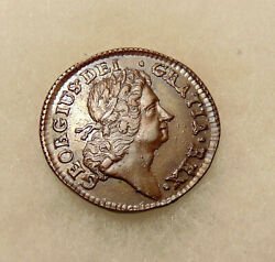 1723 Wood's Hibernia Half Penny - Choice Looking Coin - Free Shipping And Ins