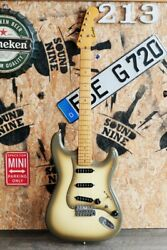 Used Combat St Type Antigua White Electric Guitar Free Shipping
