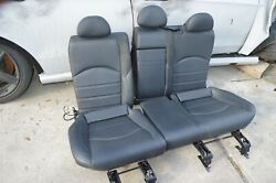 2007 W211 Mercedes E63 Amg Front And Rear Dynamic Suede Leather Seat Seats Set