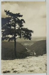 Pa Into The Valley From Penn's View Belleville Pennsylvania Photo Postcard O15
