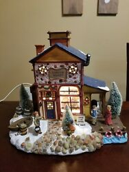 Victorian Village Collectibles Lobster Shanty Lighted Christmas Village 2001