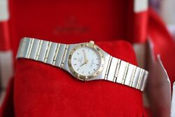Omega Constellation 1272.30 25.5mm Mid Size Ladies 18kt And Stainless Steel 2000