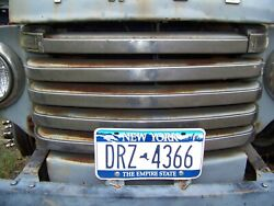 1948 1949 1950 Original Ford F1 Pickup Truck Stainless Grill Strips Vintage