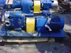 2.5 Inch Waukesha Stainless Steel Displacement Pump Model 60