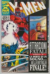 X-men 25 - Fatal Attractions - Panoramic Cover - Italian Edition